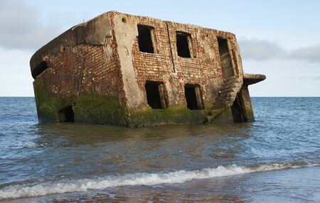 Abandoned old northern fortress in Liepaja, Latvia.