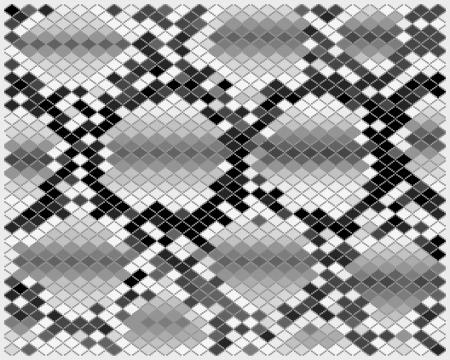 Illustration of gray snake skin, vector Vector