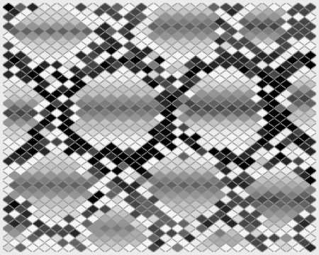 python: Illustration of gray snake skin, vector