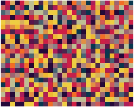 Pixel pattern with stylish color tones, vector illustration Stock Vector - 21908315