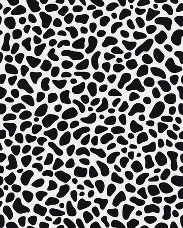 snow leopard: Seamless pattern of skin of leopard, vector illustration Illustration