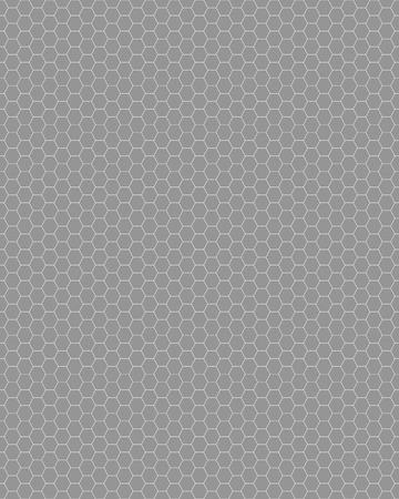 dark fiber: Gray honeycomb seamless pattern, geometric fashion design Illustration