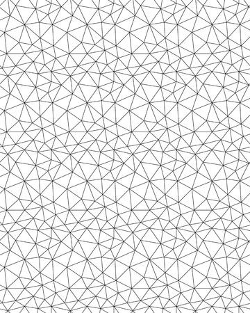 Seamless polygonal pattern background, creative design templates Illustration