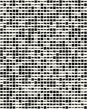 Seamless vector pattern with squares different sizes Illustration