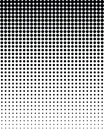 Seamless vector pattern with blend black dots, background Archivio Fotografico - 132368851