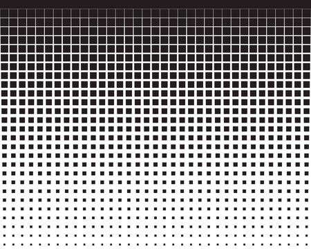Seamless vector pattern with blend black squares, background Vettoriali