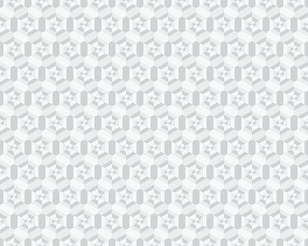 Geometric camouflage hexagon seamless pattern, vector illustration