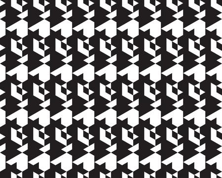 Seamless  monochrome  polygonal black  patterns