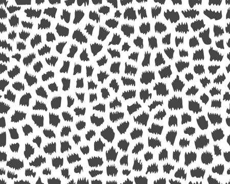Seamless pattern of giraffe skin on a white background
