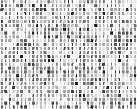 Seamless vector pattern with squares different sizes Vettoriali