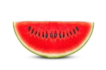 watermelon on white background. Reklamní fotografie