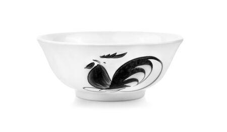 Chicken Seal Bowl on white background.