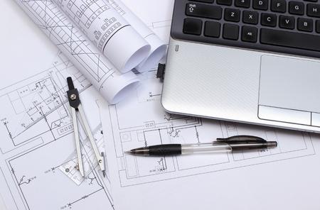 Schaltpläne, Konstruktionszeichnungen Von Haus, Zubehör Für Das ...
