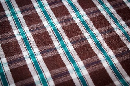 shirt: Colorful checkered shirt as background texture, multicolored fabric as backdrop