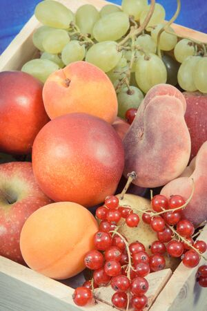 Fresh ripe fruits as source natural minerals and vitamins. Healthy lifestyles, slimming and dieting