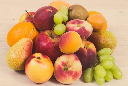 Frutta fresca e nutriente come dessert sano contenente vitamine e minerali naturali. Foto d'epoca