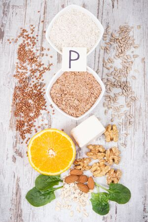 Nutritious products containing vitamin P. Natural sources of minerals and vitamins. Healthy nutrition