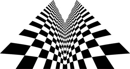 quadrant: Symmetry checkered