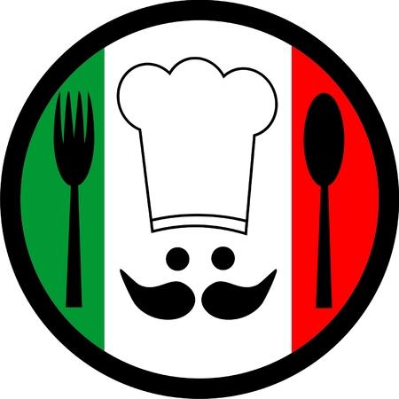cocinero italiano: Chef italiano