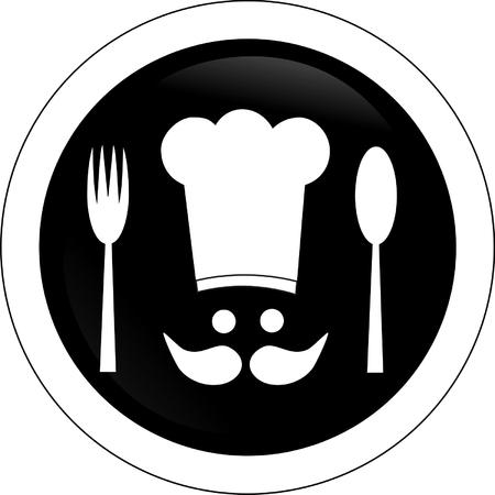 Symbol cook Vector