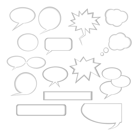 Comic collection Vector