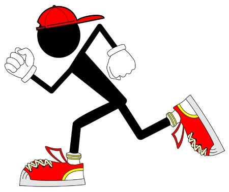 teen legs: Runner young