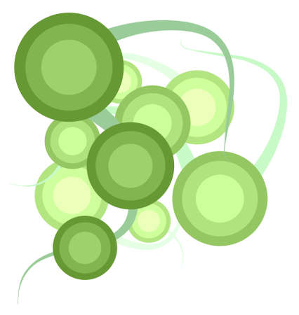 relaxant: Abstract green circles