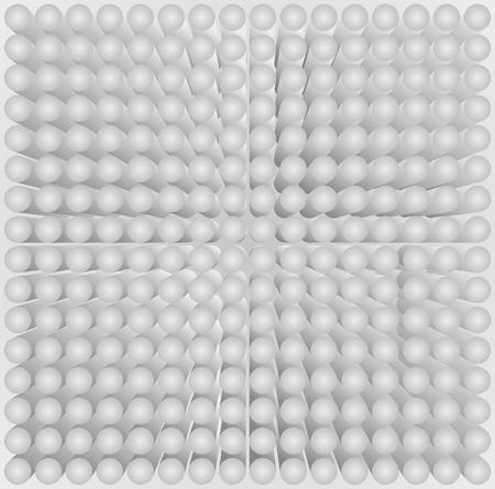 vertigo: Abstract background with many circles  Illustration