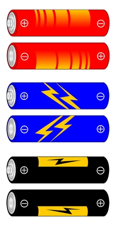 electrolyte: Several designs of electric battery