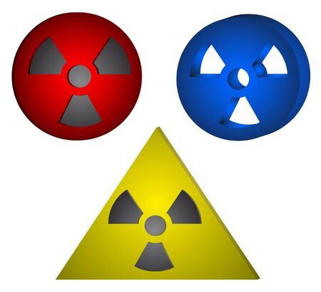 bacteriological: Three designs anti-radiation signals