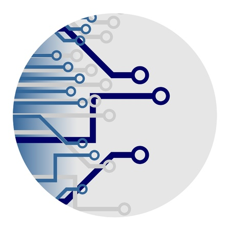 connexion: Technical signal  Illustration