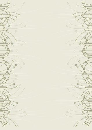 Page background with classical design  矢量图像