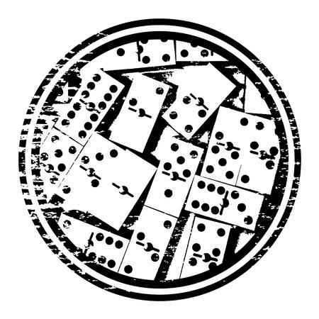 domino: representation domino game Illustration