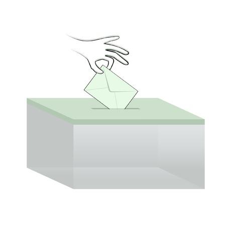democratic elections Vector