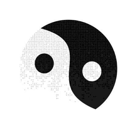 taoist: icon of yin and yang