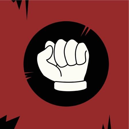socialism: Design rebel fist