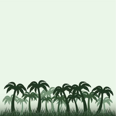 herbaceous: Design of tropical jungle Illustration