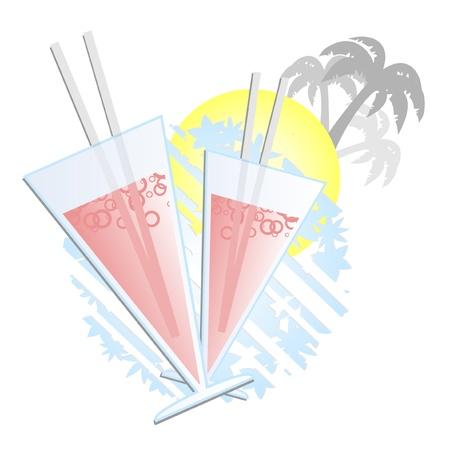 Summer drink  Vector