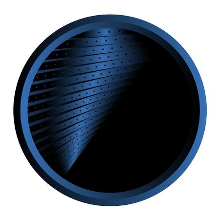 Circular symbol with abstract design Stock Vector - 9695995
