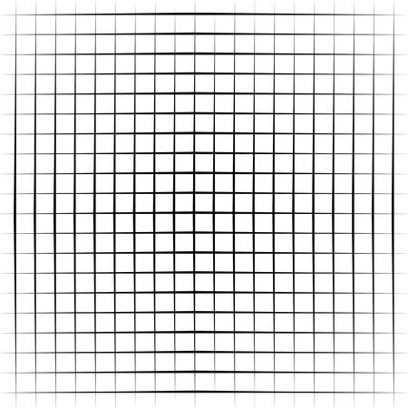 quadrant: Visual effect with lines Illustration