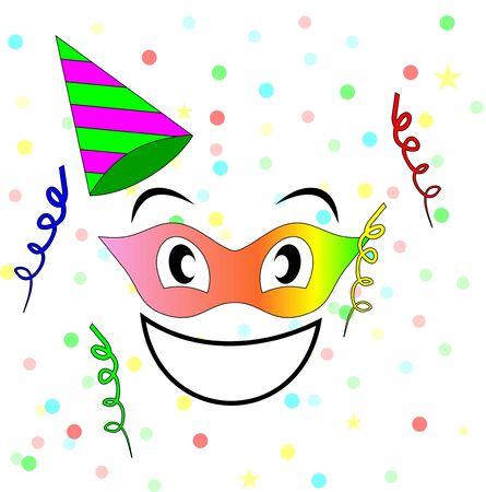contentment: Happy carnival Stock Photo