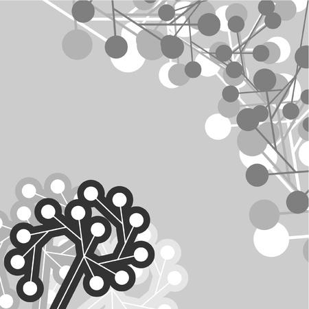 Gray and black creative design