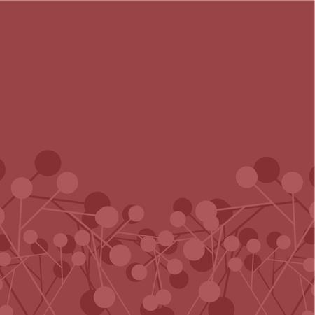 bordeaux: Abstract design of bordeaux circles