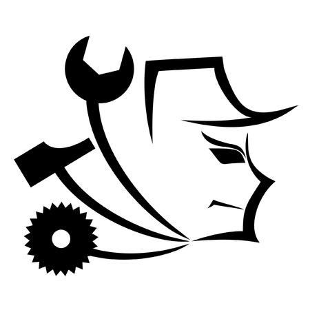 mechanical: Symbool samenvatting van een mechanische
