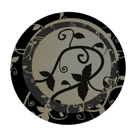 Elegant circle sign Stock Vector - 10329399
