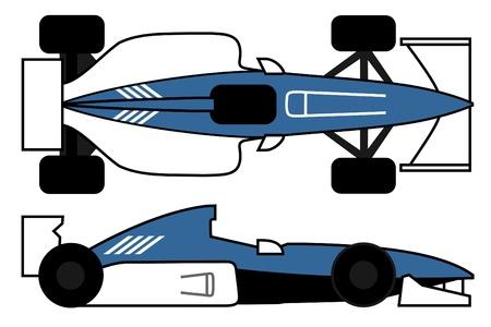 aerodynamics: Racing aerodynamics car