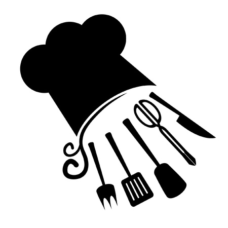 tongs: Abstract cook symbol