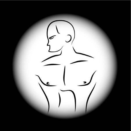 scalable: Strongman gym Illustration