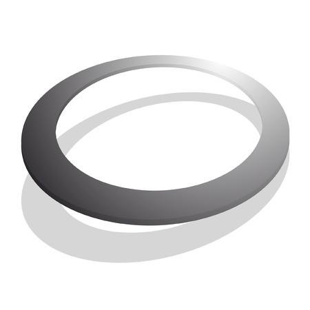 Botón ovalado creativa