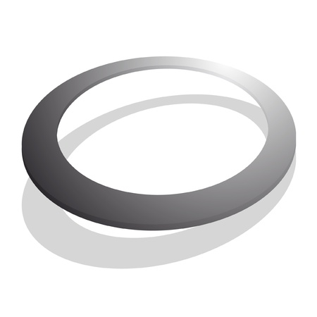 rounded circular: Creative oval button